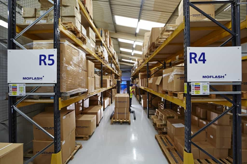 Getting Goods For Despatch In The Warehouse