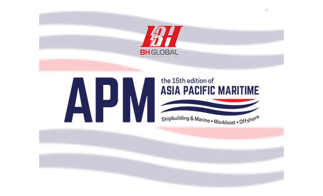 BH Global - Asia Pacific Maritime Exhibition 2018