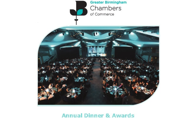 Greater Birmingham Chambers Of Commerce - Awards 2018