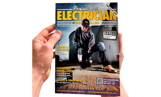 Marketing In The Professional Electrician Magazine