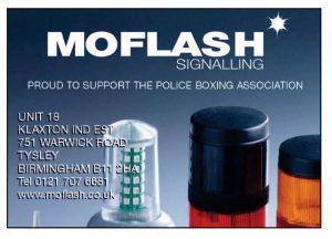 Moflash Proudly Support The Police Boxing Association