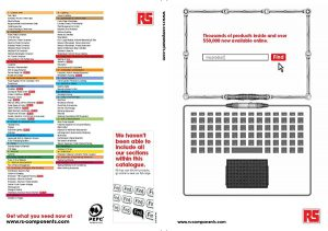 RS Components Compact Catalogue 2012