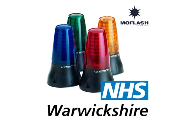 Moflash LED Beacons Are The Signal Of Choice For Warwickshire NHS