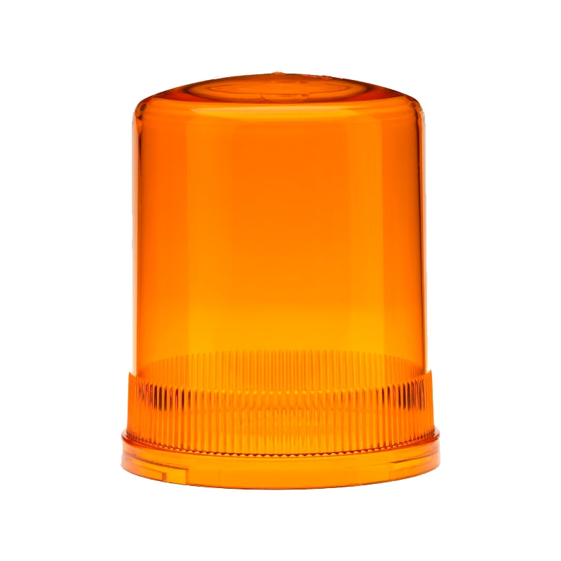 Large Dome / Lens Covers - 50064 - Amber