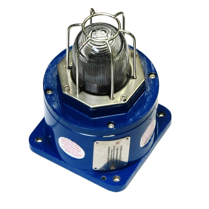 BC125 Series (Stainless Steel) Explosion Proof Beacon - Blue