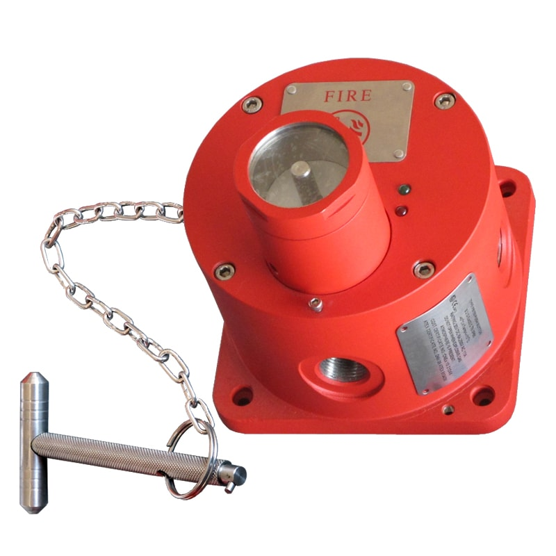 CP125 Stainless Steel Explosion Proof Manual Call Point