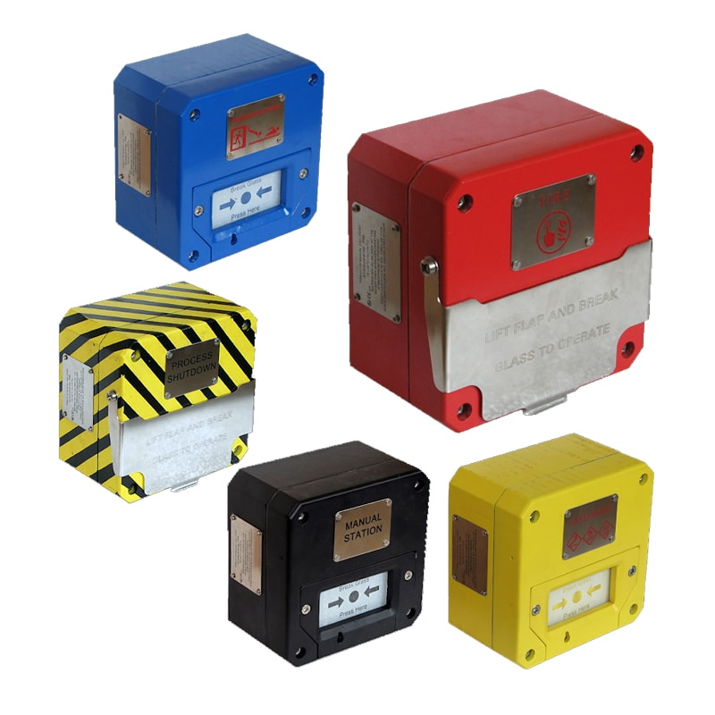 CP135 Series Explosion Proof Manual Call Point - Group
