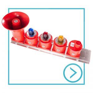 Catégorie-sondeur EXD combiné avec boîte de dérivation ou bouton poussoir