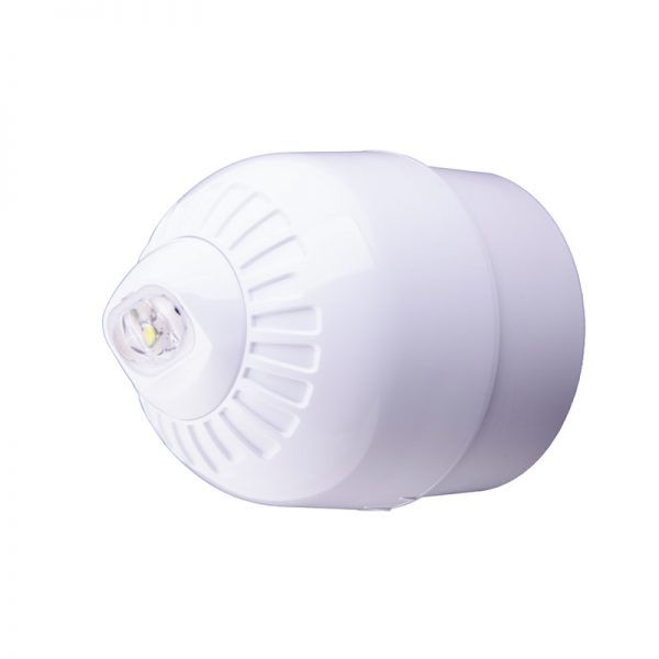 EN54 pt23 Conforming Sonos Pulse - Wall, Beacon, Deep Base, White Body - White Flash