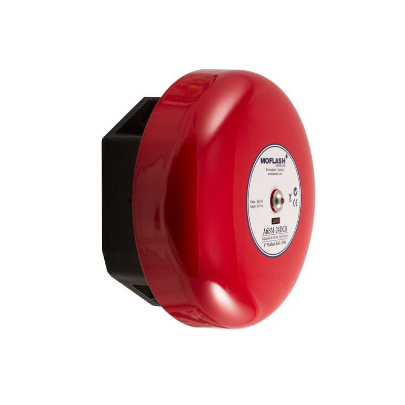 IP66 Industrial & Marine Bell A6BM Red Side