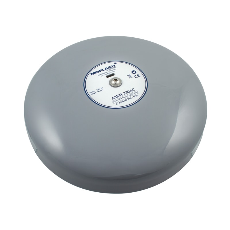 IP66 Industrial & Marine Bell - A8BM - Side Top