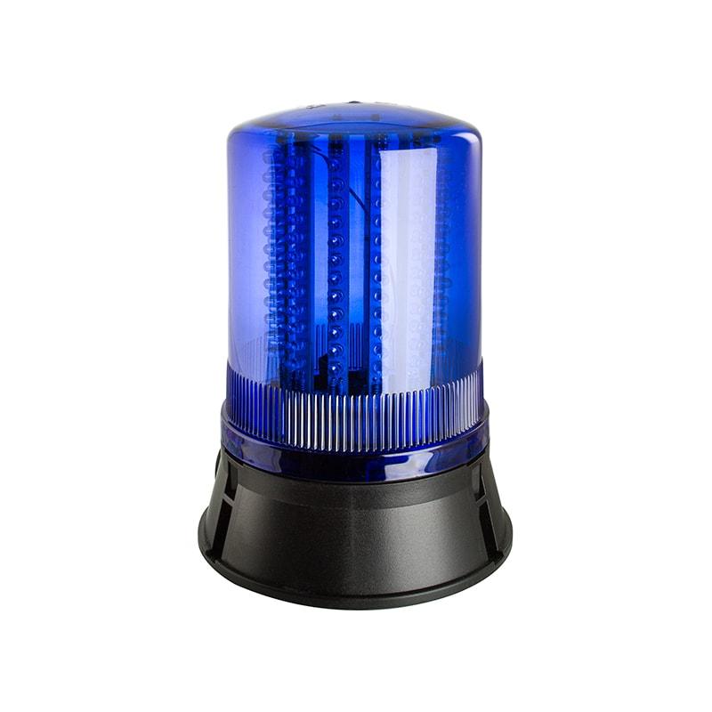 LED401-400 LED industrielles clignotantes rotatives balises statiques-bleu