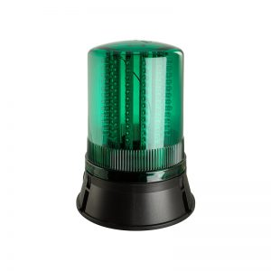 LED401-400 Industrial LED Flashing Rotating Static Beacons - Green