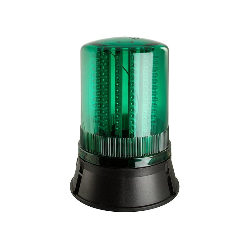 LED401-400 Industrial LED Flashing Rotating Static Beacons - Green