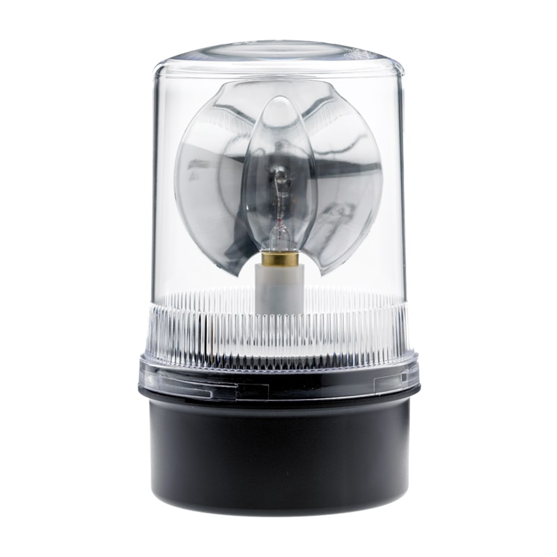 R201-200 Series Industrial Rotating Beacons - Clear