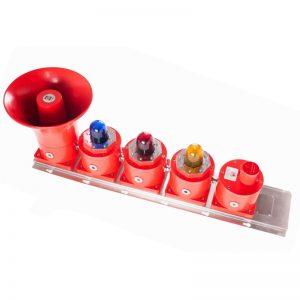 SB150-2, 3, 4 GRP EXD Beacon & sondeur combiné avec une boîte de jonction ou un bouton poussoir
