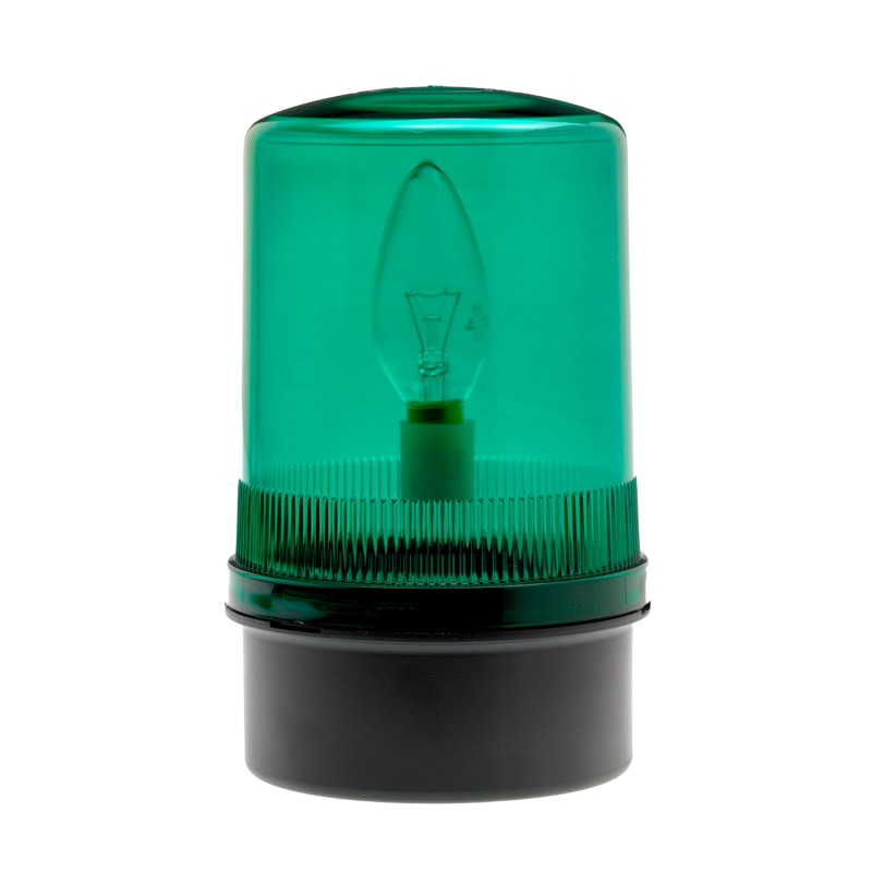 SF201-200 Industrial Static Filament Beacons - Green