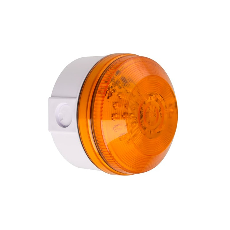 X195 Industrial Xenon Beacons Series - Deep Base Amber