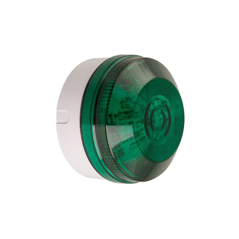 X195 Industrial Xenon Beacons Series - Shallow Base Green