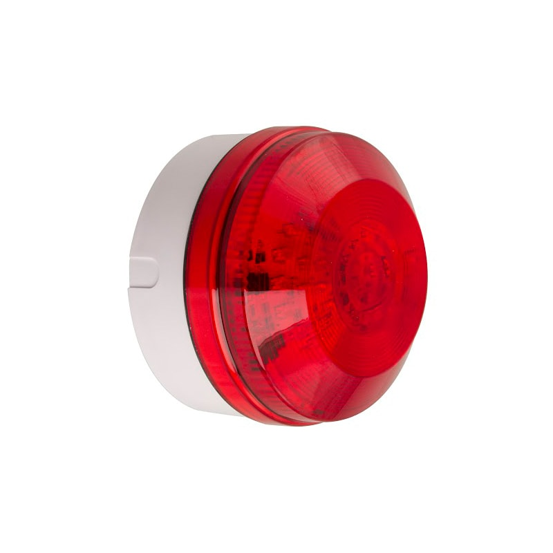 X195 Industrial Xenon Beacons Series - Shallow Base Red