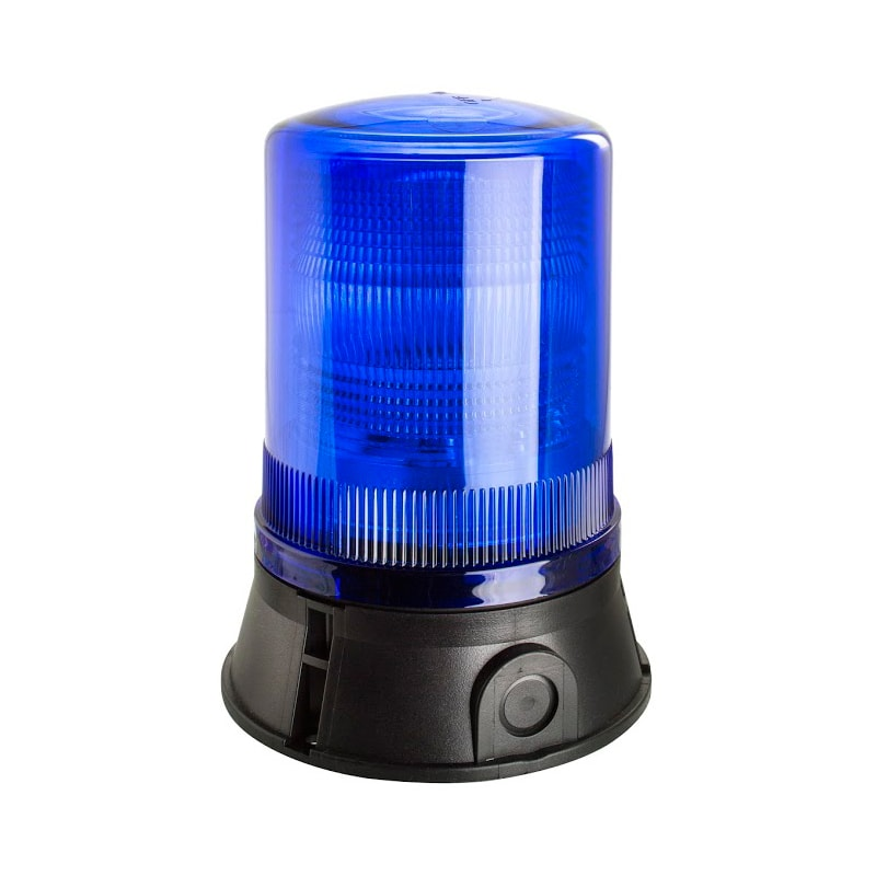 X501-500 Industrial Xenon Flashing Beacon - Blue