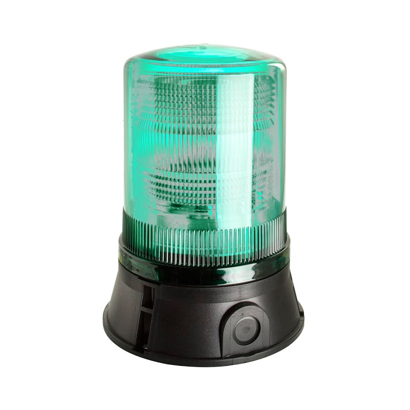 X501-500 Industrial Xenon Flashing Beacon - Clear