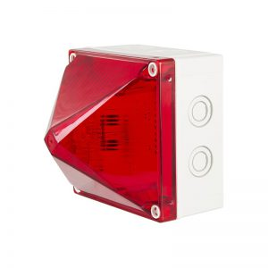 X700 Synchronous Series Industrial & Marine Xenon Beacons - Red