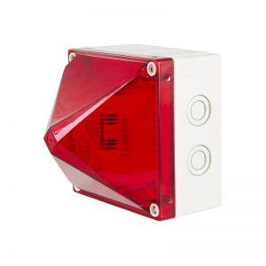 X700 synchrones de la série industrielle et marine Xenon Beacons-rouge