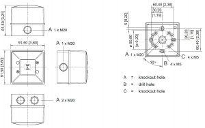 FD40 Technical Diagram
