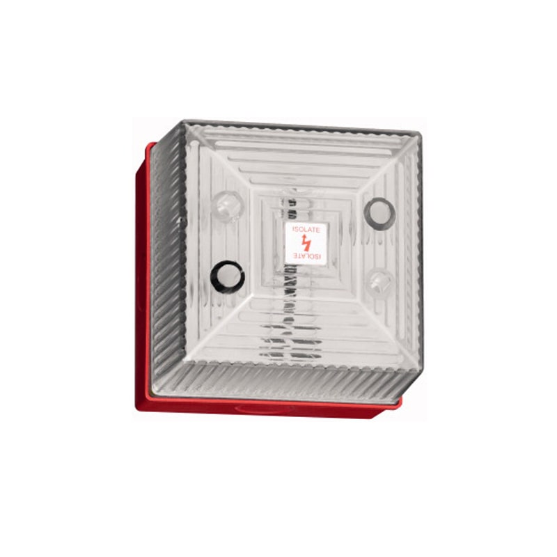 FL40 Industrial Visual Flashing Signal 5 Joule - Clear