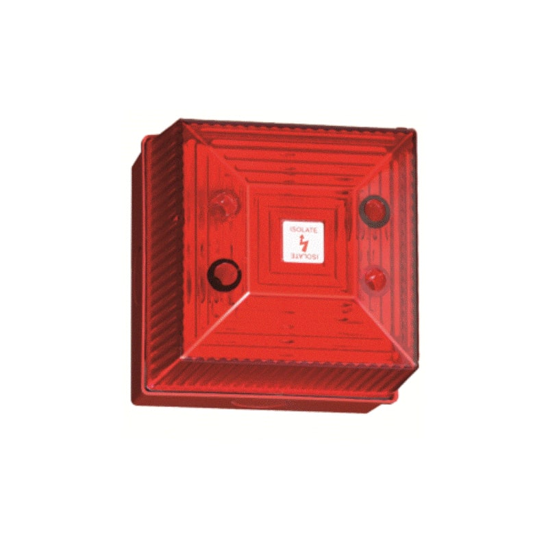 FL40 Industrial Visual Flashing Signal 5 Joule - Red