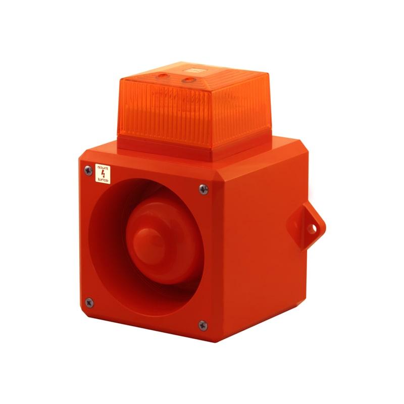 YL50 Amber Lens - Angled