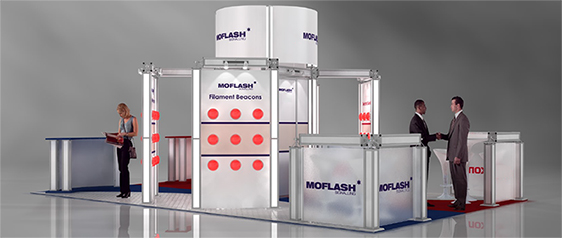 Moflash Exhibition Stand - 1